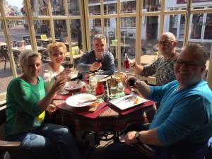 2016 Aa Meppel eetcafe De Beurs lunch 2